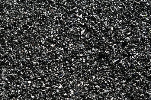 Fine coal anthracite. Canvas Print