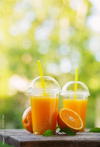 Poster Sap Freshly squeezed orange juice