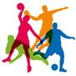 sport - sport d'équipe - football - basket - sport collectif - rugby - handball