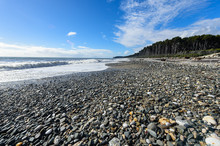 Bruce Bay In South New Zealand