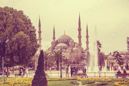 Obraz na dibondzie (fotoboard) Meczet w Stambule