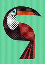 Toucan à Pois