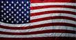 Grungy USA Flag (Paint Texture)