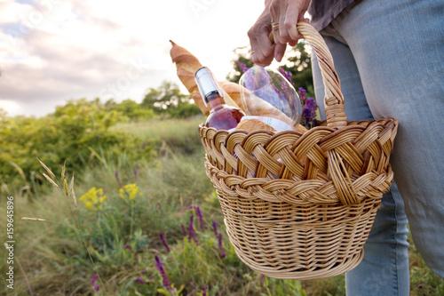 Plakat Piknik na łące