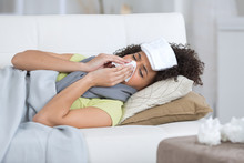 Woman With A Flu