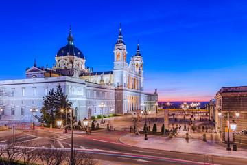 Madrid cathedral  Catedral de  de la Almudena