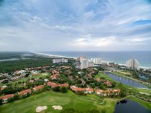 Golf Course Along The Destin Florida Coast Line