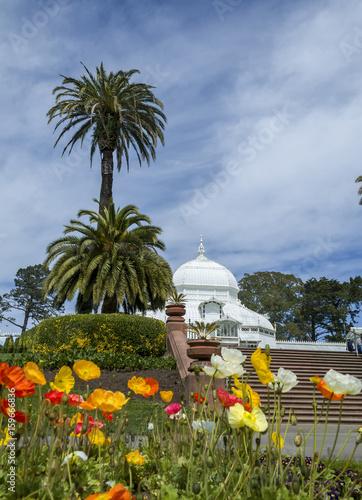 Keuken foto achterwand Temple Conservatory of flowers - San Francisco