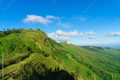 Landscape Scenery on the top of mountain in Thailand #159675664