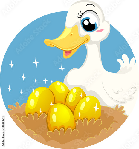 Photo Fable The Goose Who Laid Golden Eggs