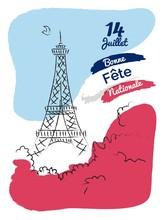 14 July Happy Bastille Day Fly...