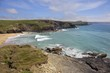 Church Cove with Poldhu Cove in background, Cornwall, England