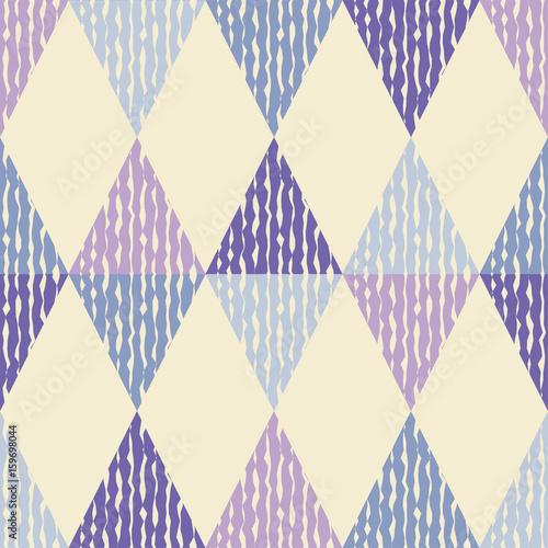 Tapeta ścienna na wymiar Mozaika trójkątów