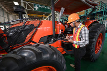 Quality Inspection Of Tractor ...