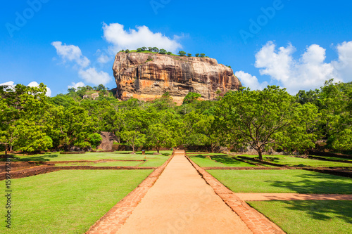 Sigiriya Rock, Sri Lanka Tablou Canvas