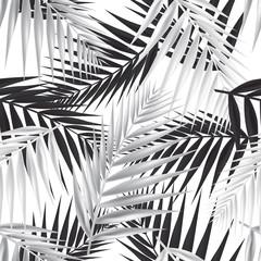 NaklejkaPalm leaf seamless pattern. Vector Illustration.