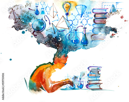 Wall Murals Paintings science