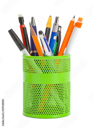 Fototapeta  Pens in Cup Can