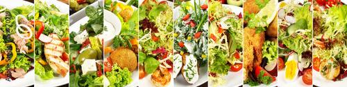 Recess Fitting Appetizer Gemischte Salate / Vorspeisen - Panorama
