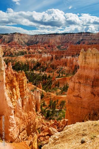 Fototapeta Landscape of Bryce canyon National Park, Utah, USA