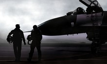 Fighter Pilot With Supersonic ...