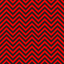 Black And Red Chevron Pattern