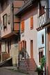 Eguisheim, France - july 23 2016 : historical village in summer