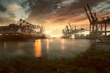 Hamburg Hafen, Burchardkai