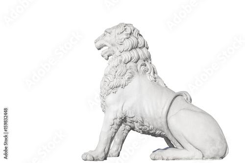 Foto  Sculpture of a lion on the Lion Bridge in St