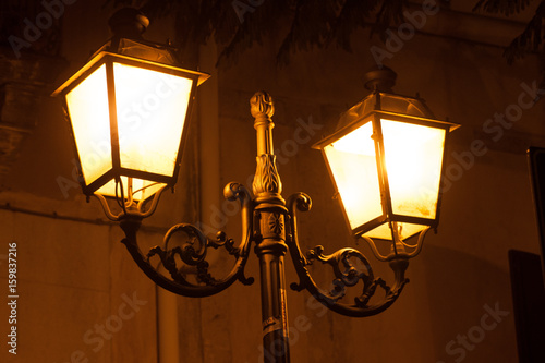 Fotografie, Obraz  Italy Sicily Adrano by night
