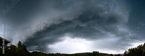 Canvas Print Formazione di una tempesta