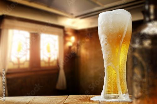 Photo sur Toile Biere, Cidre beer