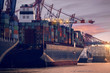 Leinwandbild Motiv Hamburg Hafen