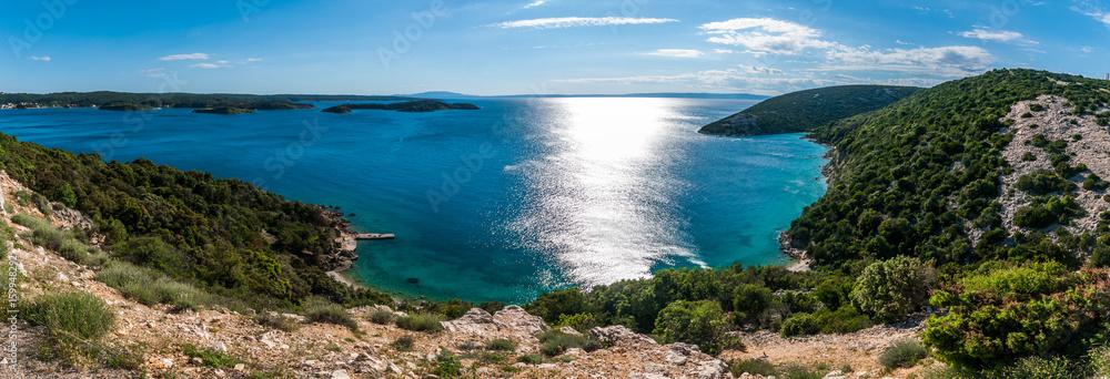 Fototapeta Croatian view
