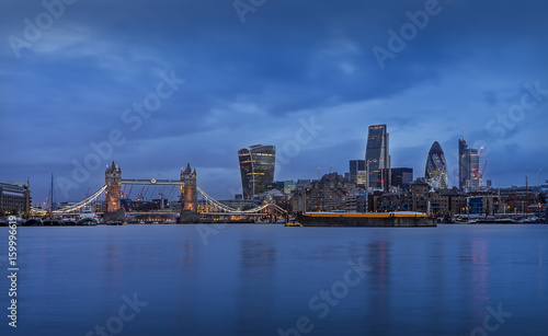 Fototapeta London City Skyline