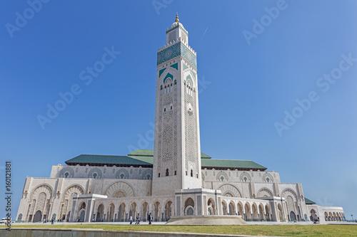 Foto  Mosque of Hasan II in Casablanca, Morocco