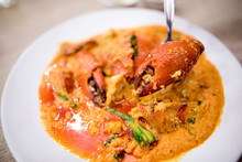 Sauteed Crab In Curry