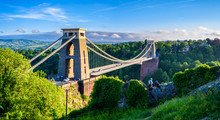 Bristol Suspension Bridge At S...