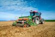 Leinwanddruck Bild - agriculteur au travail