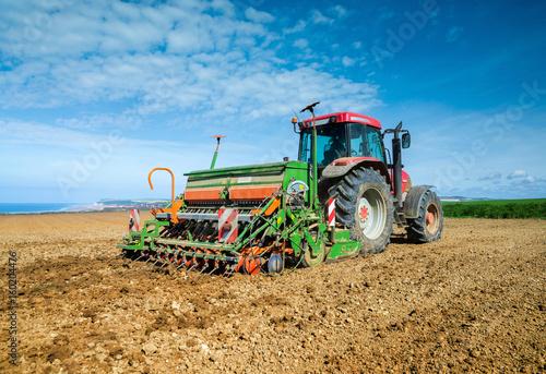 Fotografie, Obraz  agriculteur au travail