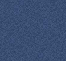 Seamless Denim Paisley Pattern