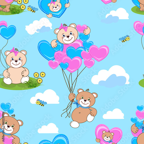 teddy-bears-seamless-pattern