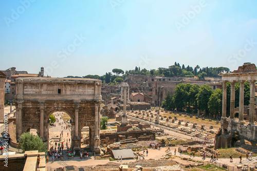 Fotografie, Obraz  Foro romano, Roma, Italia