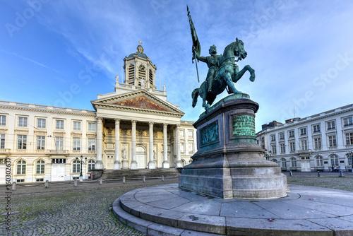 Poster Brussel Royal Square - Brussels, Belgium