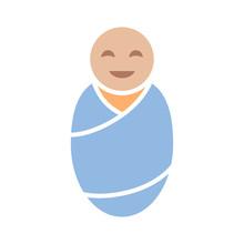 Newborn Baby Infant Swaddled O...