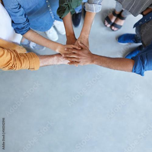 Fotografía  Friendship, partnership, togetherness, collaboration concept
