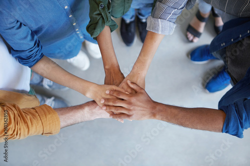 Fotografía  Solidarity and unity conept