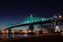 Jacques Cartier Bridge Illumin...