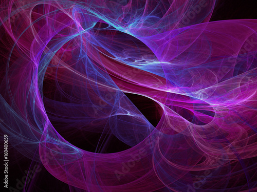Keuken foto achterwand Fractal waves abstract fractal background