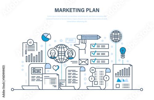 Advertising Plan | Marketing Plan Business Advertising E Commerce Seo Branding